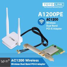 Card mạng Wi-Fi PCI-e băng tần kép AC1200