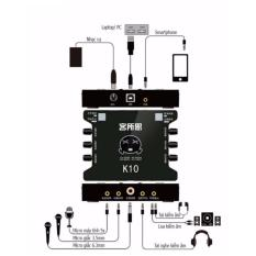Card sound hát online cho máy tính XOX K10