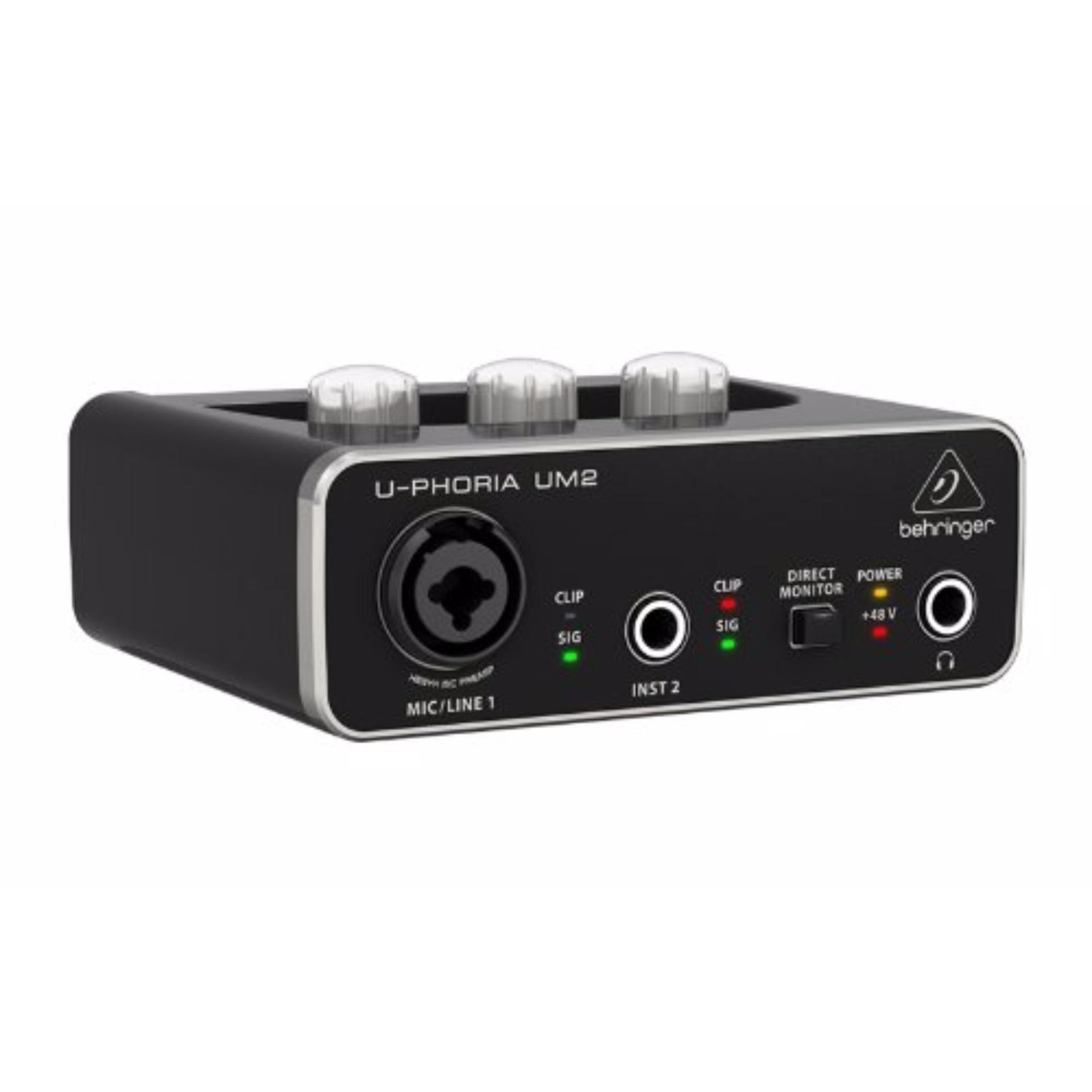 Card Sound thu âm USB Behringer U-Phoria UM2