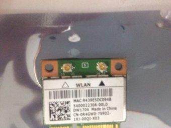 Card Wifi dành cho laptop dell (chân to)