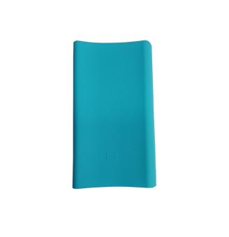 Case bao Silicon cho Pin dự phòng Xiaomi 20000mAh (xanh)