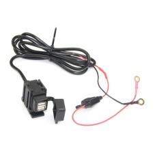 Nên mua CỔ VŨ Điện Xe Máy Chống Thấm Nước USB Sạc Xe Hơi Cổng bộ Chuyển Nguồn Đen-quốc tế ở cheerforbuy11