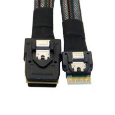 [ChenYang] Giá CHENYANG Slim Line SAS 4.0 SFF-8654 4i 38pin Host to Mini SAS 4i SFF-8087 36pin Target Cable 50cm – intl  764.000đ
