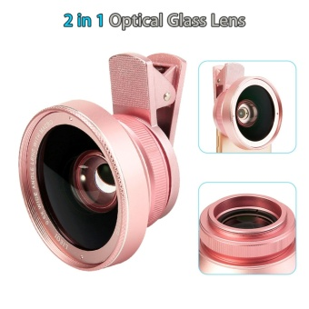 Chunzao LQ-025 Smartphone Lens Macro Lens Wide Angle Lens For 5S/6S/6SP - intl