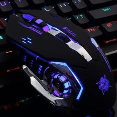 Chuột Game thủ GearLord G502 có đèn LED đổi màu cực đẹp (Đen)