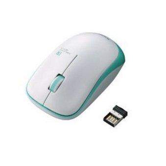 Chuột không dây Elecom IR06DRGN (Trắng viền xanh lá)