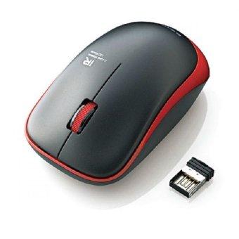 Chuột không dây Elecom IR06DRRD (Đen viền Đỏ)