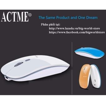 Chuột không dây sạc pin Actme T5 (Màu Xanh) - 2