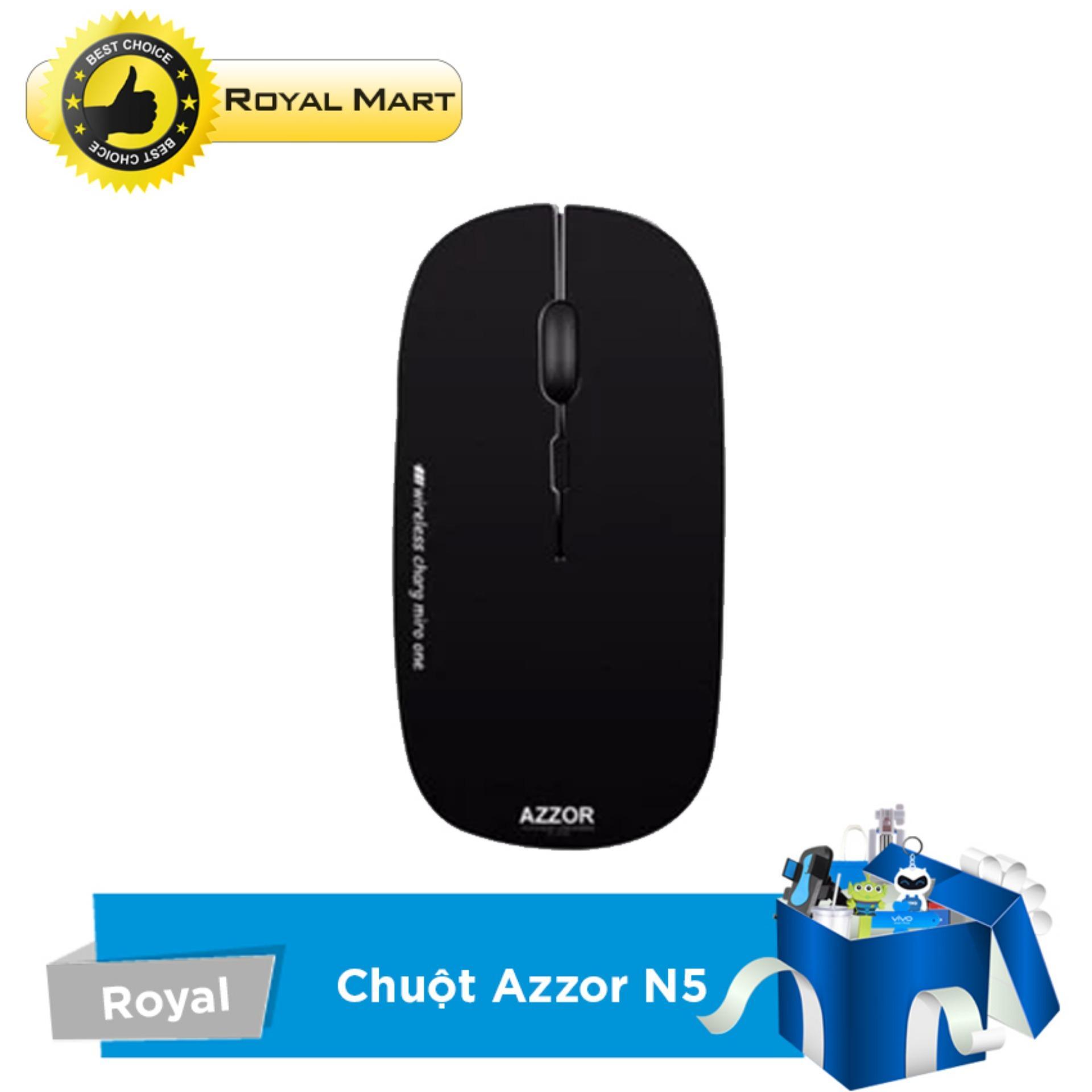 Nên mua Chuột không dây sạc pin AZZOR N5 ở Royal Mart