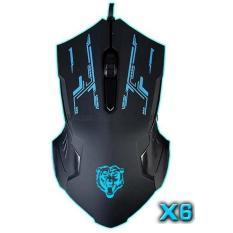 Chuột Máy tính PKCB-X6 Gaming mouse nhập Khẩu [2018]