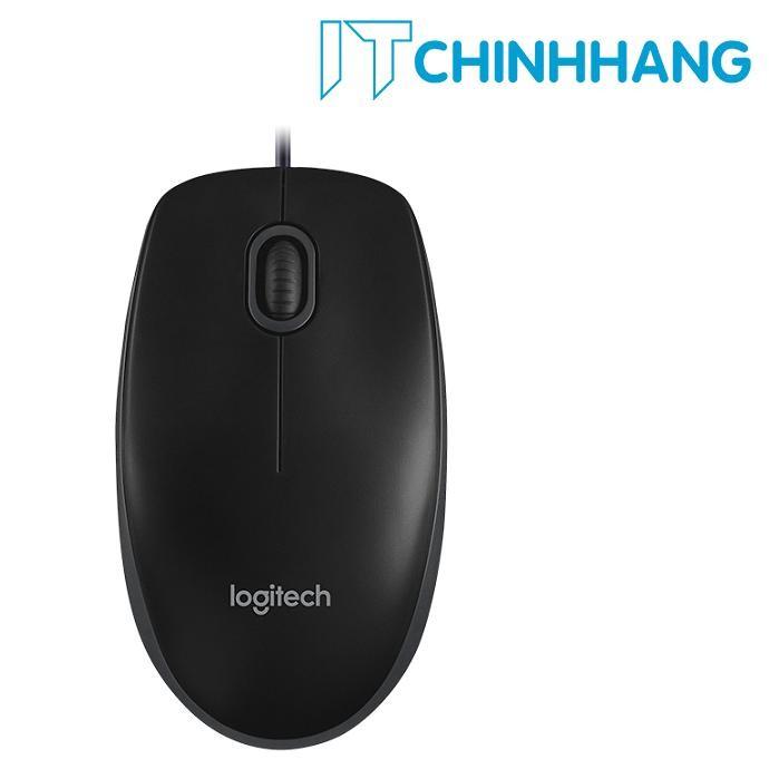 Mua Chuột quang máy tính có dây Logitech B100 Optical USB – Hãng Phân Phối Chính Thức Tại IT Chính Hãng Offical Store