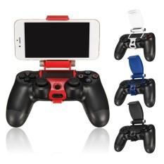 Kẹp Điện Thoại Kẹp Thông Minh Giữ Kẹp Tay Cầm Chân Đế Hỗ Trợ Đứng cho PS4 Playstation 4 DualShock 4 Bộ Điều Khiển + tặng ĐÈN LED miếng dán kính cường lực-quốc tế