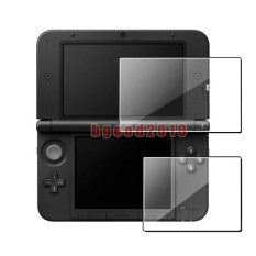 Clear Top + Bottom Screen Protector LCD Film Guard for Nintendo 3DS XL LL – intl