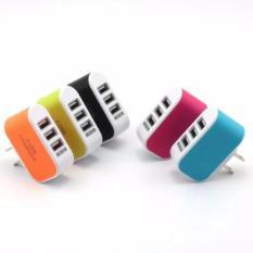 Cốc sạc điện thoại đa năng 3 cổng USB