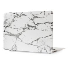 Color pattern hard Rubberized Protection Cover Protective Case for 13.3 inch Apple Mac 13″ New Macbook Pro (Model:A1706 or A1708), marble-White/Black – intl