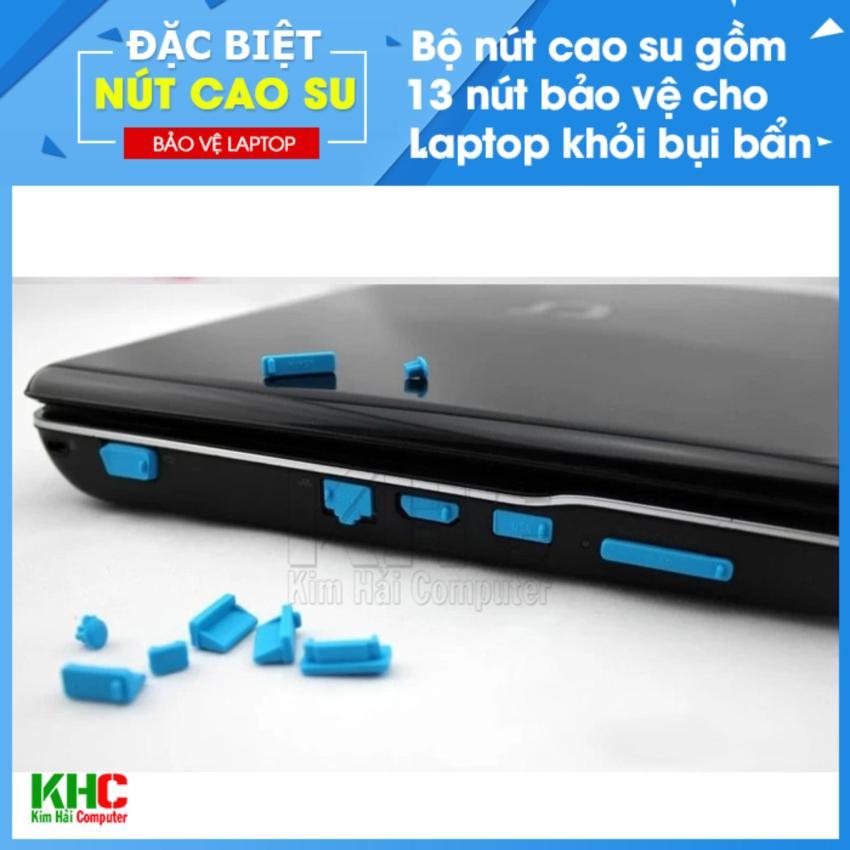 Hình ảnh Combo 2 Bộ 13 Nút Chống Bụi Laptop (Giao màu ngẫu nhiên) - Kim HảiComputer