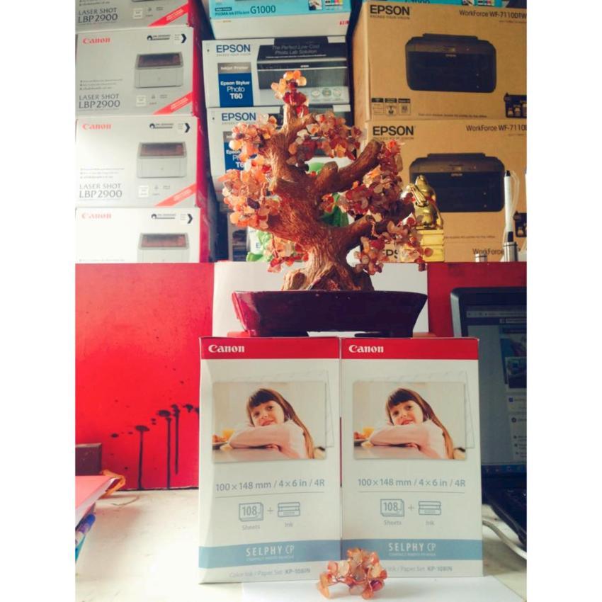 Hình ảnh Combo 2 hộp giấy ảnh Nhiệt Canon KP108