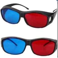 Combo 2 Kính 3D Red Blue xem phim trên tivi, laptop SGT