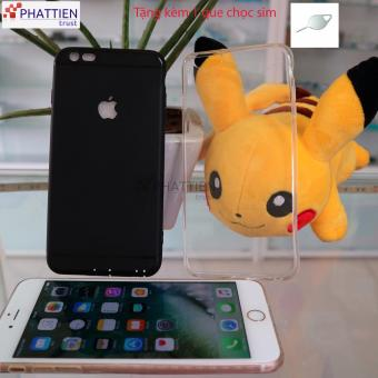 Combo 2 ốp lưng Iphone 6/6s cao cấp( đen, trong suốt)