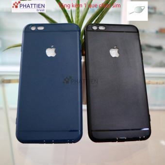 Combo 2 ốp lưng Iphone 6/6s plus cao cấp( 2 ốp đen và xanh lam)