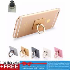 Combo 4 giá đỡ điện thoại hình chiếc nhẫn + Tặng kèm thẻ tích Verygood