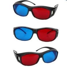 Combo 3 kính xem phim 3D thụ động Red Blue _SGT