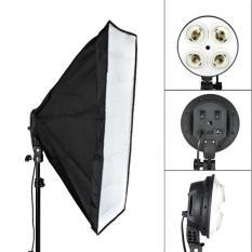Combo đui đèn 4 và softbox 50x70cm