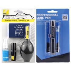Combo Dụng Cụ Vệ Sinh Máy Ảnh Nikon Và Bút Lau Ống Kính Lens Pen VSGO-DDL1