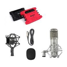 Cập Nhật Giá Combo Karaoke chuyên nghiệp với Sound card XOX K10X tích hợp live stream và Micro BM 900