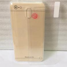 Combo Ốp dẽo cao cấp và Kính Cường lực cho Nokia 2 (Trong Suốt)