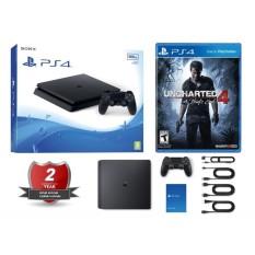 Combo Playstation 4 PS4 Slim 500GB hàng Sony VN kèm game Uncharted 4 (BH 2 năm)