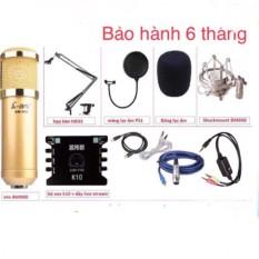 Combo:mic thu âm micro ami bm900