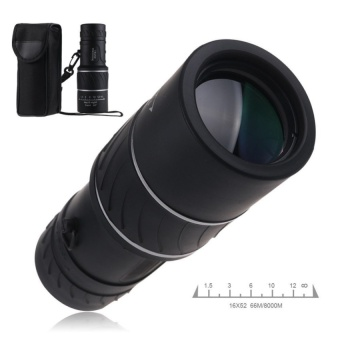 Compact Monocular Telescope Low-light-Day & Night Vision 16x52HD Optical Monocular For Hunting Camping Hiking - intl