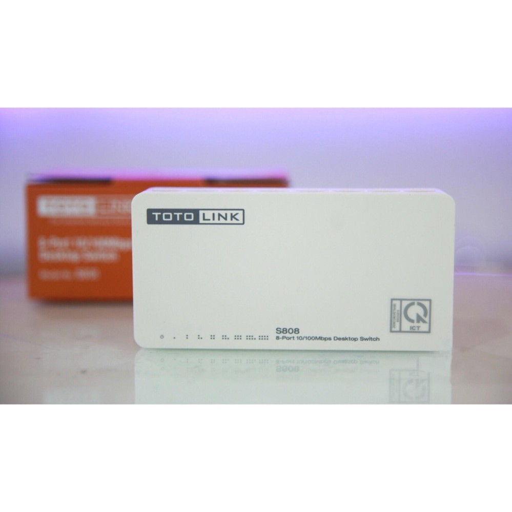 Cổng Chia Mạng Totolink Switch 8 port 10/100mps S808