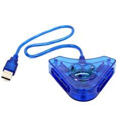 Cổng chuyển Tay PS2 Chơi Trên PC (Xanh dương) – Hàng nhập khẩu