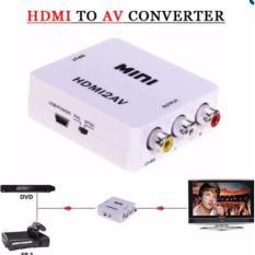 Hộp chuyển tín hiệu HDMI to AV có chip chuyển cho android box ra tivi cổng hoa sen