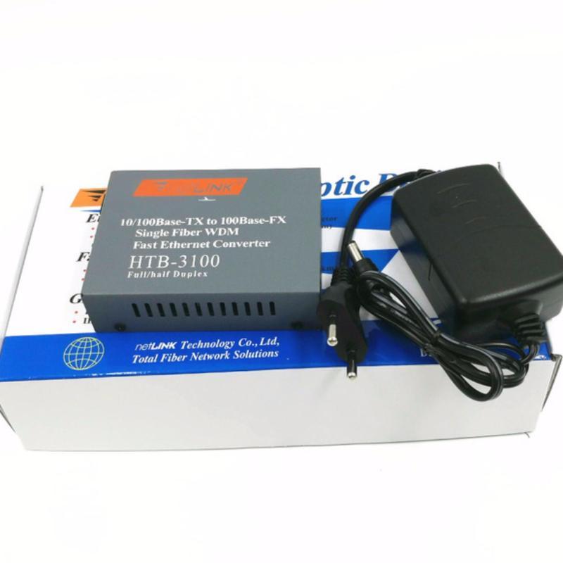 Bảng giá Convert quang single mode 10/100Mbs HTB-3100 (01 bộ Mode A) Phong Vũ