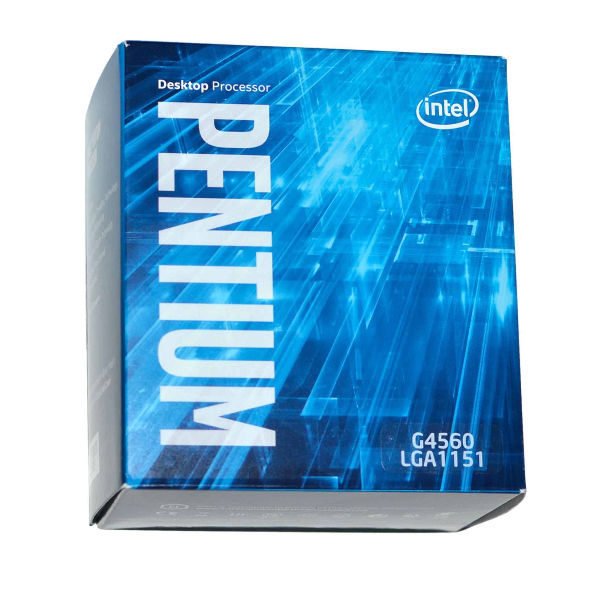 So sánh giá CPU Intel® Pentium® Processor G4560 (3M Cache, 3.50 GHz) socket 1151- Hàng nhập khẩu Tại Máy tính Quốc Đạt