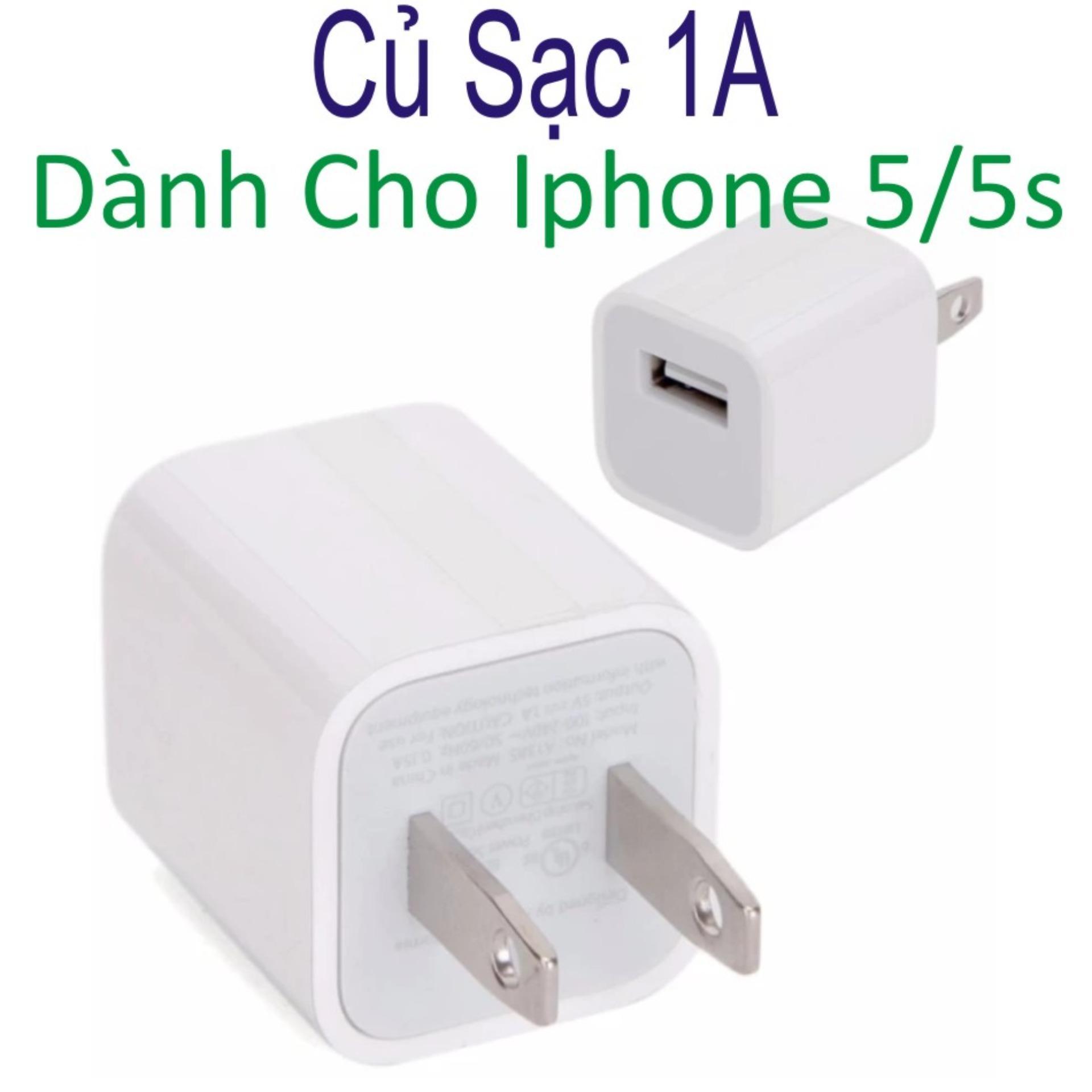 Củ sạc cho Iphone 5/5S/SE -Hàng nhập khẩu loại 1