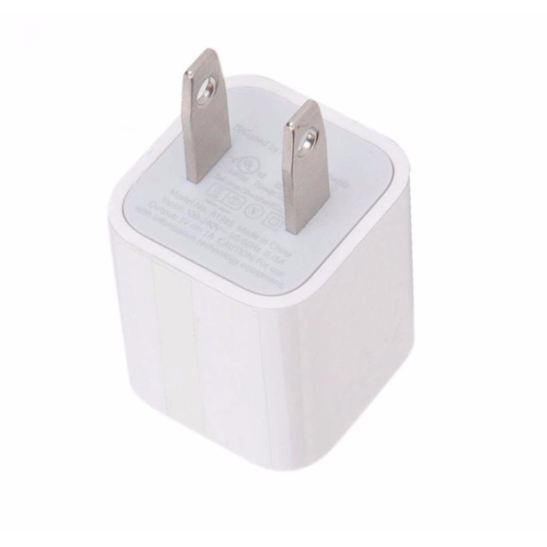 Củ sạc iphone 6 -(Hàng nhập khẩu)(Trắng)