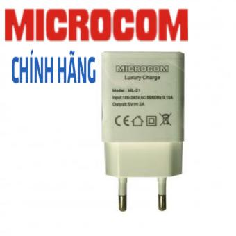 CỦ SẠC MICROCOM 2A ML21- DÀNH CHO CÁC DÒNG MÁY SMARTPHONE