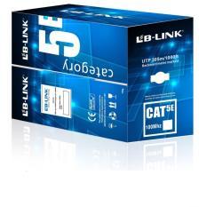 Cuộn Dây cáp mạng CAT5E UTP 305 Mét (Trắng, xanh – Mới 100%)