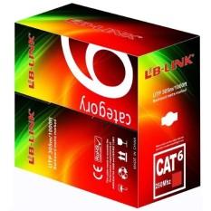 Cuộn dây cáp mạng LB-LINK Cat6 UTP CCA 305m dây màu trắng