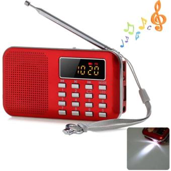 Đài FM Radio Speaker USB,Mp3 Music Player có đèn led