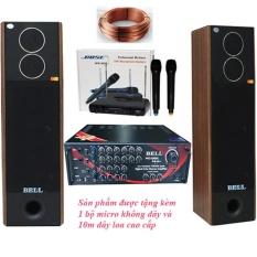 Dàn âm thanh karaoke gia đình BELL PA – 8800S