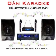 Dàn âm thanh KARAOKE không dây Bluetooth 3D HIFI Tại VinaShop giá bao nhiêu?