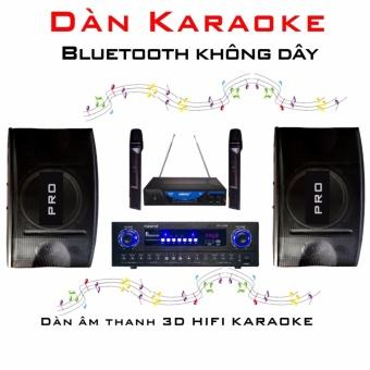 Dàn âm thanh KARAOKE không dây Bluetooth 3D HIFI