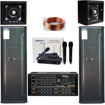 Dàn âm thanh karaoke Yamaha 3 tấc đôi cao cấp - 8843447 , YA171ELAA77FKNVNAMZ-13278754 , 224_YA171ELAA77FKNVNAMZ-13278754 , 10900000 , Dan-am-thanh-karaoke-Yamaha-3-tac-doi-cao-cap-224_YA171ELAA77FKNVNAMZ-13278754 , lazada.vn , Dàn âm thanh karaoke Yamaha 3 tấc đôi cao cấp