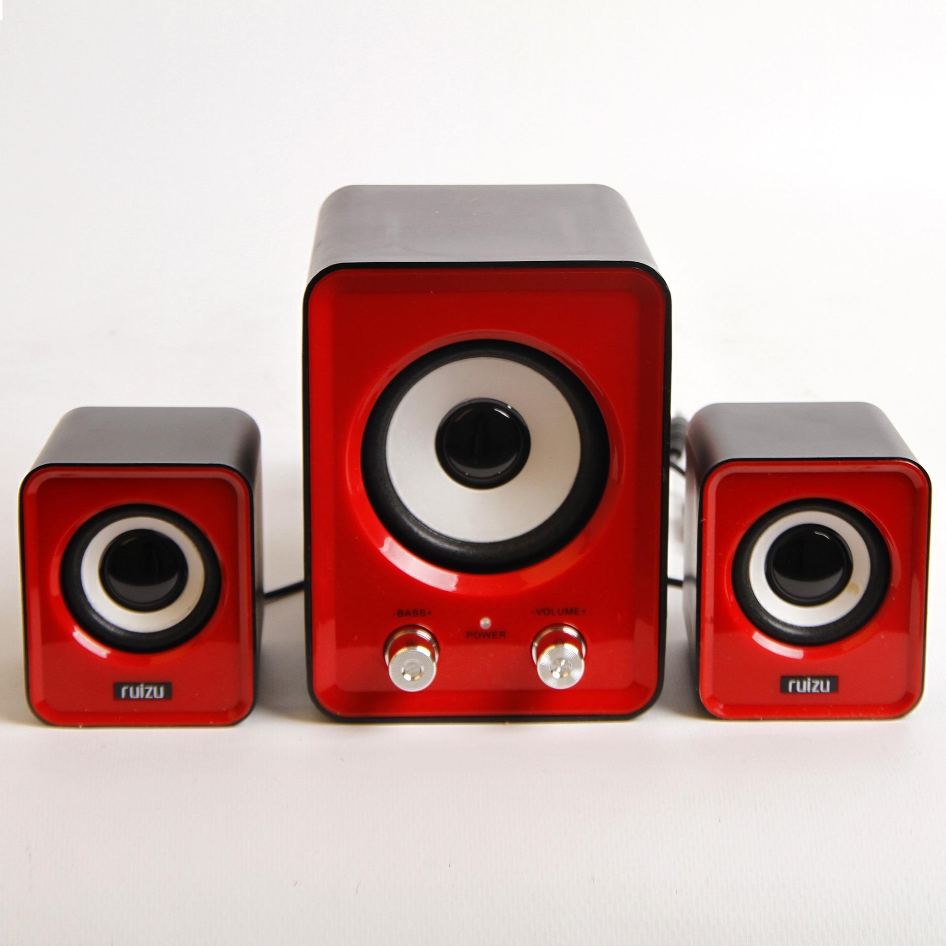 Dàn loa vi tính 2.1 Multimedia 3D Sound RUIZU G20 – Hãng phân phối chính thức