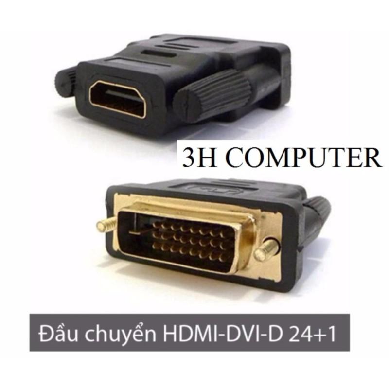 Bảng giá Đầu chuyển đổi DVI-D 24+1 sang HDMI (DVI-D male to HDMI female) Phong Vũ